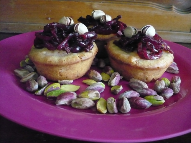 mini-muffin pistacchi