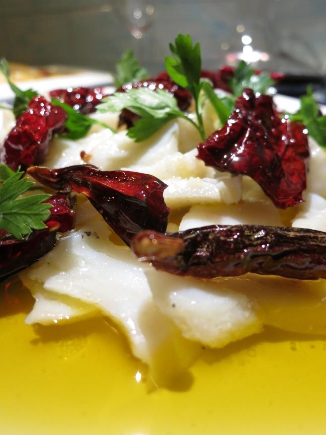 Baccalà coi peperoni cruschi - foto di Walter Romano