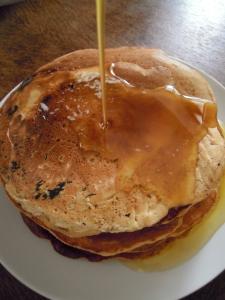 pancake e sciroppo