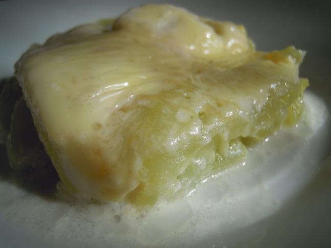 chayote al formaggio
