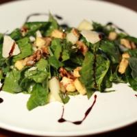 Insalata di spinaci crudi con glassa di balsamico