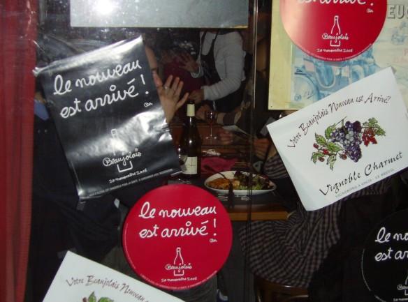 Il Novello è arrivato! - Parigi, Novembre 2008 - Foto di Silvia Miceli e Dario Trimarchi