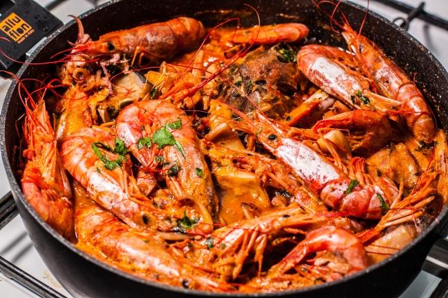 Zuppa di pesce con gamberi - Foto di Walter Romano