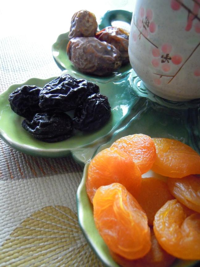 plateau frutta secca