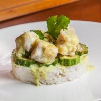 Merluzzo con zucchine e salsa di cocco al curry