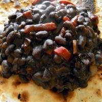 Fagioli neri alla Venezuelana - Caraotas negras
