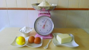 ingredienti pasta frolla montata