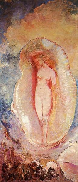 """""""La Naissance de Vénus"""" di Odilon Redon"""