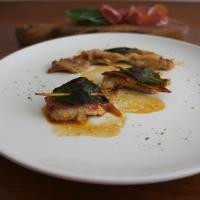 Saltimbocca con prosciutto di Parma