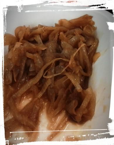 Cipolline stufate all'aceto balsamico e senape
