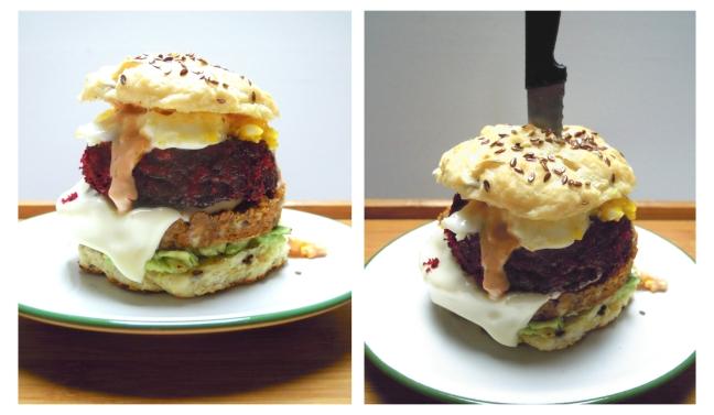 veggie burger violence