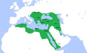 L'impero Ottomano alla sua massima espansione