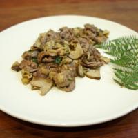Straccetti di manzo con funghi porcini