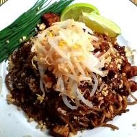 Pad Thai con gamberi freschi