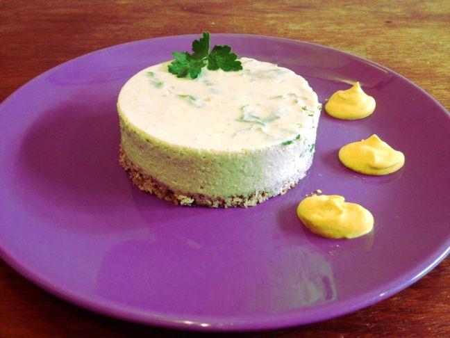cheesecake ai piselli